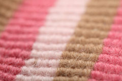 Close up of multicolor wool Royalty Free Stock Images