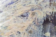 Close up of multicolored stone texture. Natural background stock photo