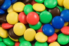 close-up of multicolored sweets Stock Photo