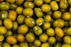 Close up of mung bean background Stock Photography