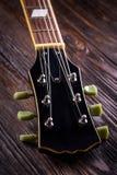 Close up of music guitar Stock Photo