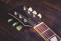 Close up of music guitar Stock Photos