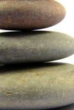 Close-up na pilha do seixo. Foto de Stock