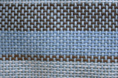 Close-up of natural burlap Royalty Free Stock Photography