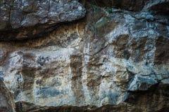 Close up natural do fundo da textura do penhasco da rocha Imagem de Stock Royalty Free