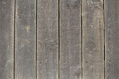 Close-up of natural old vintage weathered gray brown unpainted s stock image