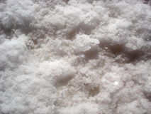 A close-up of natural salt deposits Royalty Free Stock Image