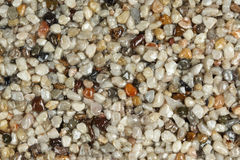 Close up of a natural stone carpet Stock Photos