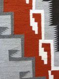 Close up of a Navajo Blanket Stock Photography