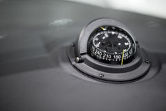 Close-up of a navigational compass Royalty Free Stock Images