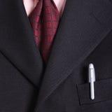Close up necktie of Businessman Royalty Free Stock Photos