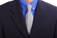 Close up necktie of Businessman Royalty Free Stock Image
