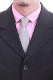 Close up necktie of Businessman Royalty Free Stock Photo