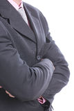 Close up necktie of Businessman Stock Photos