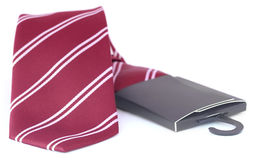 Close up of a necktie Royalty Free Stock Photography
