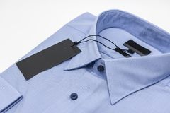 Close up of new business shirt for men Stock Images