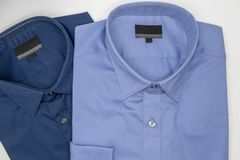 Close up of new business shirt for men Royalty Free Stock Images