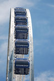 Close-up of new ferris wheel at Navy Pier in Chicago. Royalty Free Stock Image
