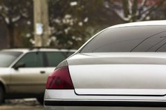 Close up of new modern cars parking on city street. Urban transportation. Close up of new modern cars parking on city street. Urban transportation traffic royalty free stock image