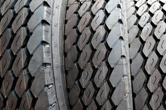 Close up new truck  tire Royalty Free Stock Photography