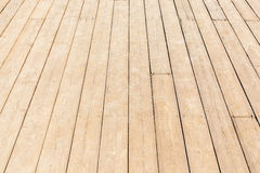 Close up new wood texture of floor with natural pattern. Royalty Free Stock Image