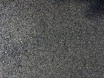 Close up of a newly built asphalt or tar road.