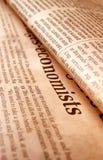 Close up of newpaper Royalty Free Stock Image