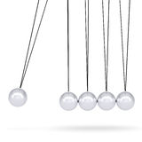 Close up of Newton's cradle Stock Photos