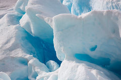 Close up of  Nigardsbreen Glacier (Norway) Royalty Free Stock Image