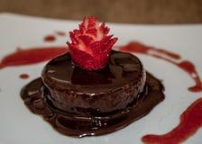 Close-up no caramelo de chocolate imagem de stock royalty free