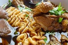 Close up noodle Stock Images