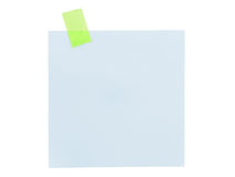 Close up of note paper Royalty Free Stock Images
