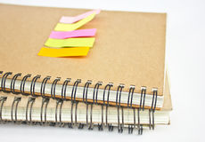 Close up of Notebook's Binder. Stock Images