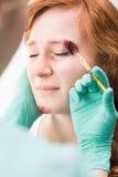 Close-up of nurse at work Stock Photos