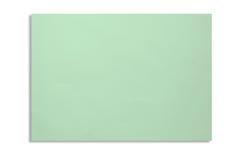 Close up o papel da cor verde A4 Fotografia de Stock