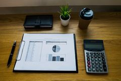 Close up object Business concept. Business workplace on the table. stock image