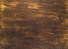 Close-up of obsolete plywood texture Royalty Free Stock Photography