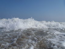 Close up of ocean surf Royalty Free Stock Photos