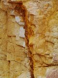 A close up of the Ochre pits Stock Photos