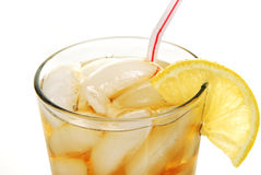 Free Close Up Of A Glass Of Iced Tea Stock Photography - 12651192