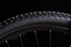 Free Close-up Of A Mountain Bike Rubber Tire Royalty Free Stock Images - 45409209