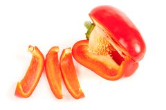 Free Close Up Of A Sliced Red Pepper Royalty Free Stock Photo - 12547235