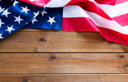 Free Close Up Of American Flag On Wooden Boards Royalty Free Stock Photos - 73645078