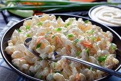Free Close-up Of American Macaroni Salad, Top View Stock Photos - 160972123