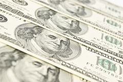 Close-up Of American Money Royalty Free Stock Image