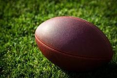 Close Up Of An American Football Stock Images