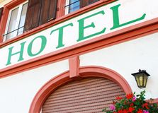 Free Close-up Of An Old Hotel Wall Stock Images - 22398584