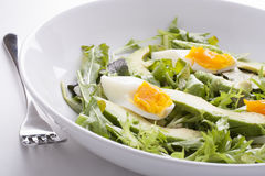 Close Up Of Avocado Salad Stock Photo