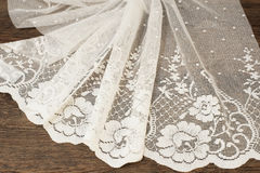 Free Close Up Of Beautiful White Tulle. Sheer Curtains Fabric Sample. Texture, Background, Pattern. Wedding Concept. Interior Design. V Royalty Free Stock Image - 95662096
