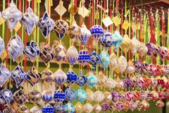 Free Close Up Of Christmas Market Stall In Vienna, Austria. Christmas Royalty Free Stock Photo - 133482085